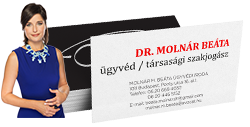 dr. Molnár Beáta ügyvéd / társasági szakjogász